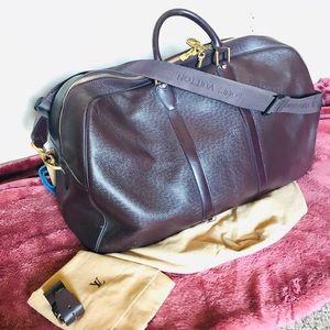 LOUIS VUITTON Taiga Kendall GM Luggage Bag w strap